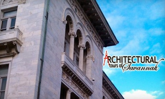 Architectural Tours of Savannah - Historic District - North: $10 for a Walking Tour at Architectural Tours of Savannah ($20 Value)