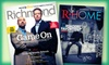 "Richmond & R-Home: $14 for a Two-Year Subscription to ""Richmond"" and ""R-Home"" Magazines ($26 Value)"