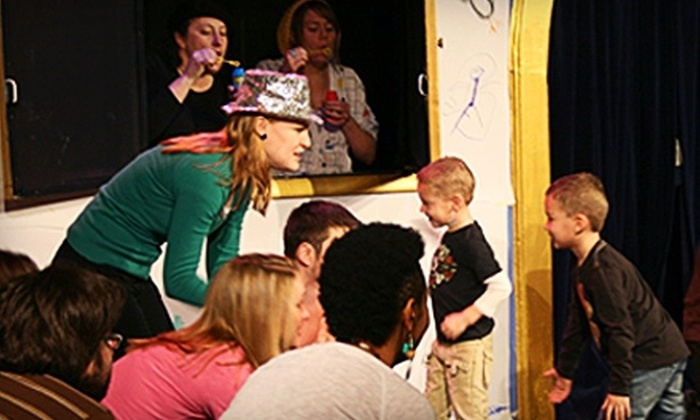 "iO Theater - Lakeview: $10 for Four Tickets to ""Storytown"" Comedy Show for Kids at iO Theater ($20 Value)"