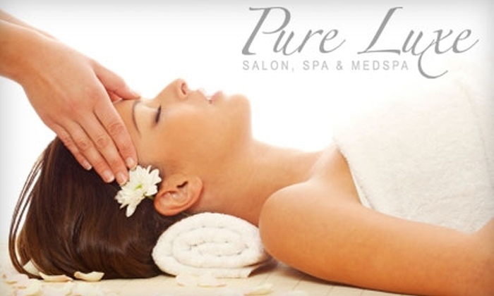 Pure Luxe Salon, Spa & MedSpa - 6: $97 for a 15-Unit Botox Treatment ($195 Value) or $40 for Massage Service ($80 Value) at Pure Luxe Salon, Spa & MedSpa