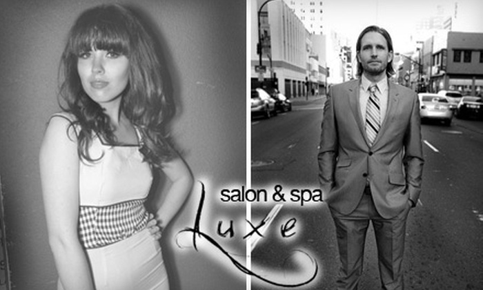 Luxe Hair Lounge & Day Spa  - Central Sacramento: $35 for $80 Worth of Services at Luxe Hair Lounge & Day Spa