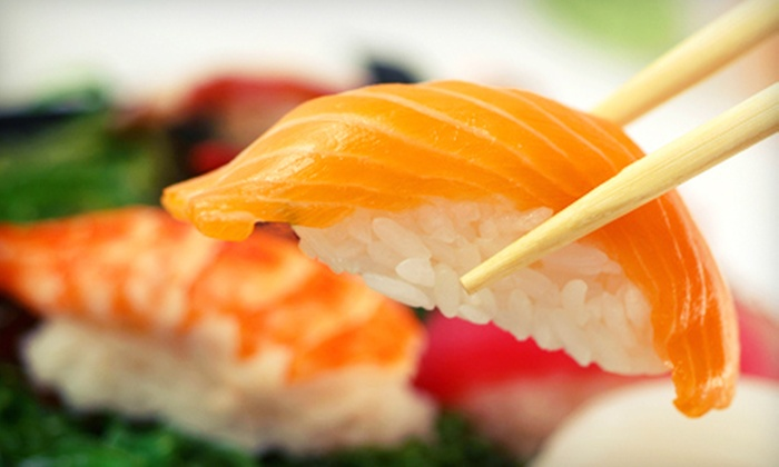 Sushi Gallery - Stone Mountain: $29 for a Three-Course Dinner for Two with Drinks at Sushi Gallery (Up to $69.80 Value)