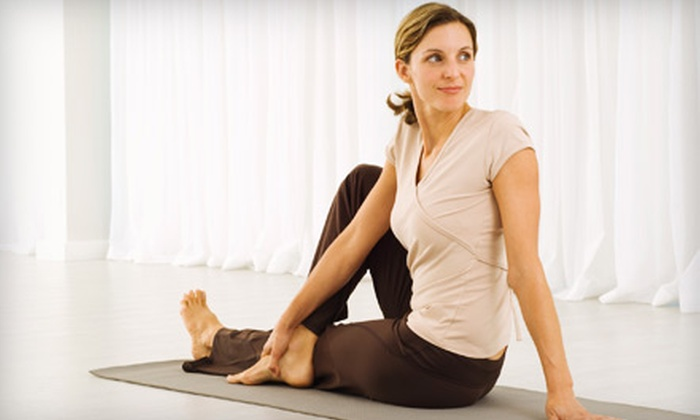 Yoga By Degrees - Wheaton: $29 for Five Drop-in Heated Yoga Classes at Yoga By Degrees in Wheaton ($86 Value)