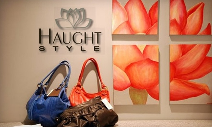 Haught Style Boutique - Prairie Village: $55 for $115 Worth of Designer Clothing and Accessories at Haught Style Boutique