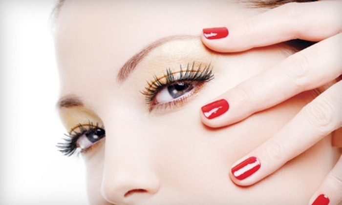hq Salon - Brookside: $30 for Process Color or Haircut, or $25 for Gel Nails at hq Salon (Up to a $65 Value)