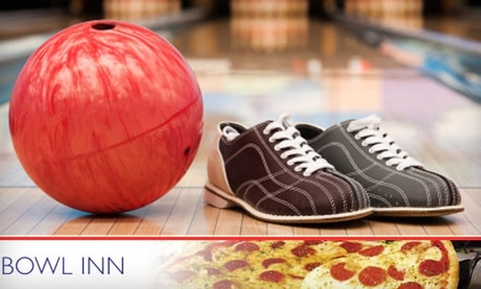 Bowl Inn - Kaisertown: $7 for Three Bowling Games, Shoe Rental, a Pizza Slice, and a Soda at Bowl Inn ($14 Value)