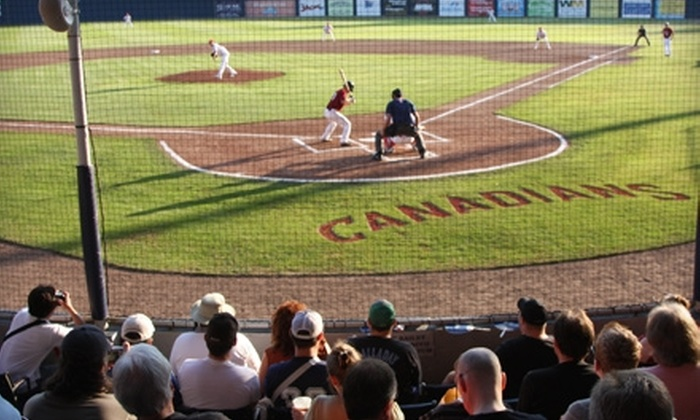 Vancouver Canadians Baseball Club - Vancouver: $12 for Two Reserved Grandstand Tickets to Any 2011 Vancouver Canadians Baseball Club Home Game ($25 Value)