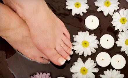 JuliAnne's Salon & Spa: No-Chip Manicure, a Raspberry Pedicure, and a Hand Paraffin Treatment  - JuliAnne's Salon & Spa in Schaumburg