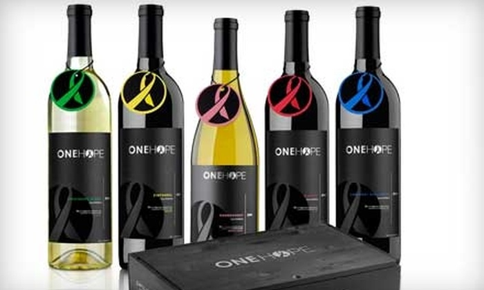 OneHope Wine: $45 for $100 Worth of Wine and Merchandise Online from OneHope Wine