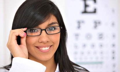 image for One Eye Exam and $210 Towards Prescription Eyewear at New Era Eyecare <strong>Optometrists</strong> (89% Off)