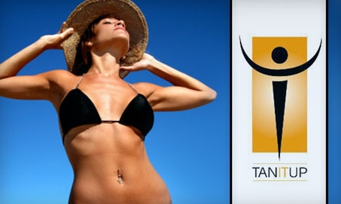 Tan It Up - San Antonio: $25 for One Month of Unlimited Tanning or $20 for a UV-Free Airbrush Tan at Tan It Up