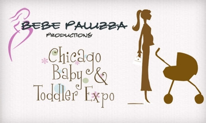 Chicago Baby & Toddler Expo - Schaumburg: $5 Ticket to the Chicago Baby & Toddler Expo in Schaumburg July 31–August 1 (Up to $10 Value)