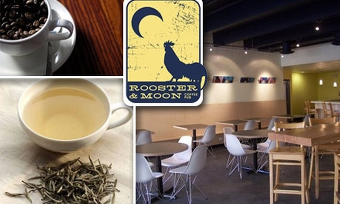 Rooster & Moon Coffee Pub - Golden Triangle: $5 for $10 Worth of Coffee and Tea at Rooster & Moon Coffee Pub