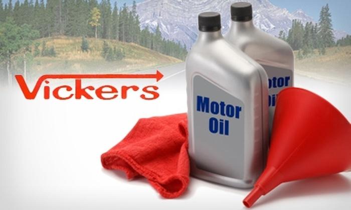 Vickers Auto Rental and Repair - North San Jose: $30 for an Oil Change at Vickers Auto Rental and Repair