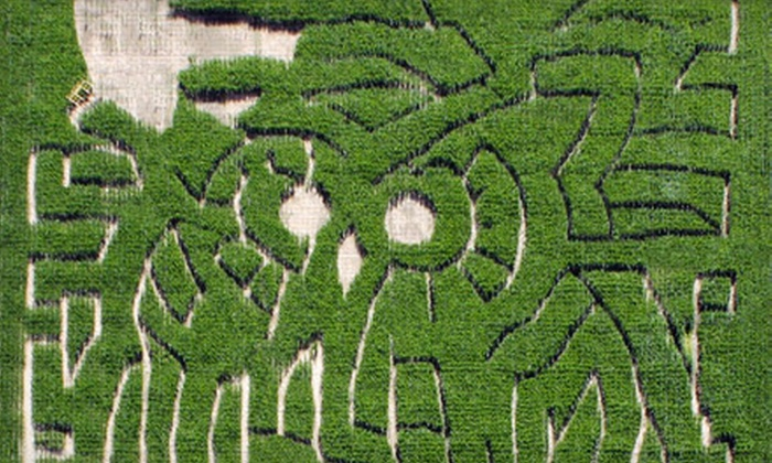 The Mid-South Maze - Memphis: $12 for Family Corn-Maze Outing for Four to Mid-South Maze ($24 Value)