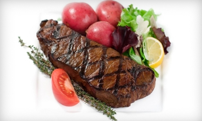 The Fifth Season Restaurant - Austintown: $12 For $25 Worth of Steakhouse Fare at The Fifth Season Restaurant