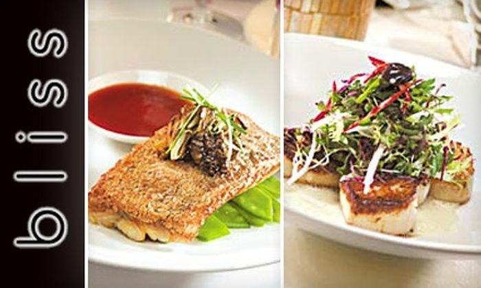 Bliss - Rittenhouse Square: $25 for $50 Worth of Upscale American Cuisine and Drinks at Bliss