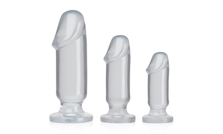 Doc Johnson Anal Starter Kit with 3 Anal Plugs