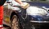 Lavado completo del coche a mano