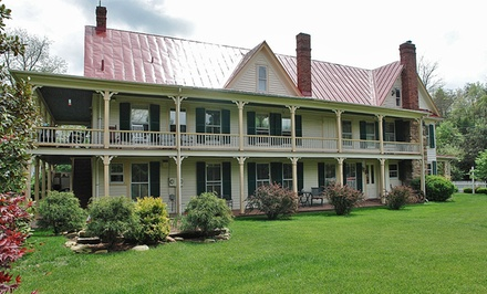 Stay with Wine and Chocolates at Hummingbird Inn in Goshen, VA. Dates into May.