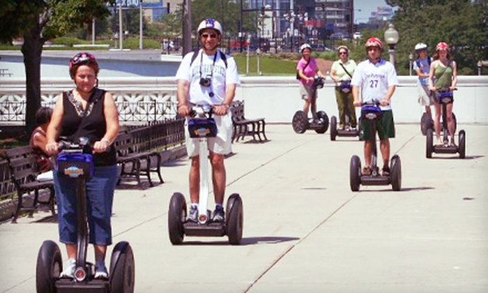 Bike and Roll Chicago - Multiple Locations: Hyde Park, Lakefront, or Fireworks Segway Tour for Two from Bike and Roll Chicago (Up to 60% Off)