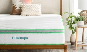 "Linenspa 10"" Latex Hybrid Mattress"