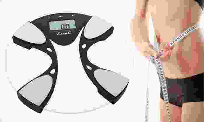Escali Body-Composition Scale: $28 for an Escali Body-Composition Scale ($79.95 List Price). Free Shipping.