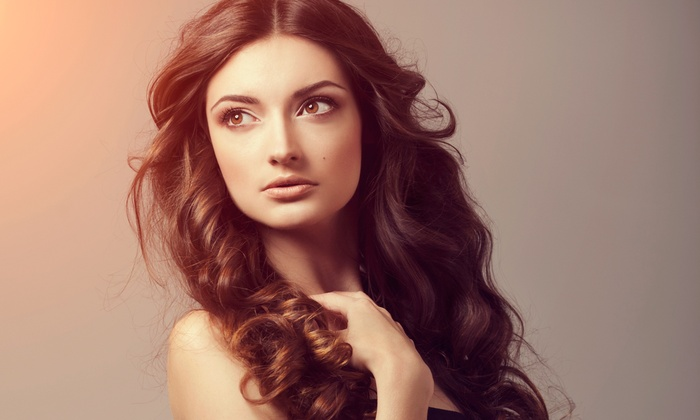 Panache Aveda Hair Studio & Day Spa - Multiple Locations: Women's Haircut with Optional Botanical Hair Therapy at Panache Hair Studio & Day Spa (Up to 54% Off)