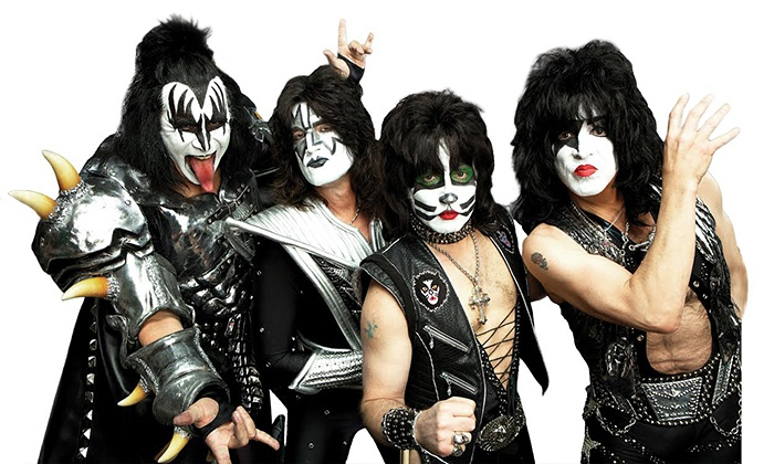 KISS & Def Leppard - Harris - Houston: KISS & Def Leppard at PNC Music Pavilion on Saturday, July 19, at 7 p.m. (Up to 35% Off)
