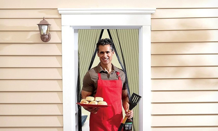 Magnetic Screen Door: $9.99 for a Trademark Home Magnetic Screen Door ($22.89 List Price).