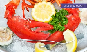 Waterfront Bar and Grill: $30 for $50 Toward Dinner for Two at Waterfront Bar and Grill