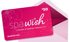 $50 SpaWish eGift Cards
