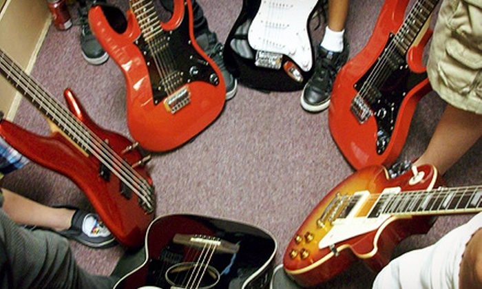 Alamo Rock School - Downtown: Two-Week Summer Kids' Rock Camp or One Month of Private Music Lessons at Alamo Rock School (Up to 54% Off)