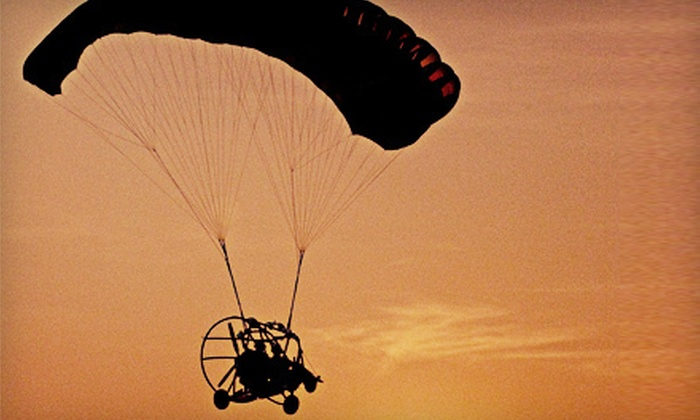 Rotorzen Helicopters - Lansing Municipal Airport: One, Two, or Four Powered-Parachute Flights and Instructional Lessons at Rotorzen Helicopters in Lansing (Up to 65% Off)