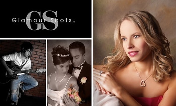 Glamour Shots - Dallas: $19 for a Photo Shoot, Airbrush Makeover, and a 10x13 Portrait from Glamour Shots ($119 Value)