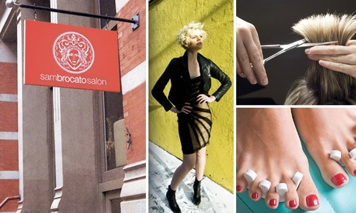 Sam Brocato Salon - SoHo: $50 for $125 Worth of Services at Sam Brocato Salon