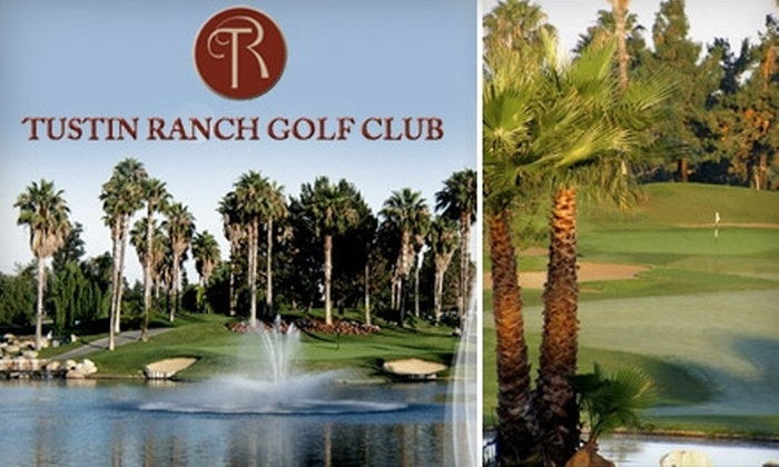 Tustin Ranch Golf Club - Tustin: $18 for Nine Holes of Golf on The Big Easy Course Plus a Cart ($36 Value) or $22 for Sunday Brunch for Two People ($43.90 Value) at Tustin Ranch Golf Club