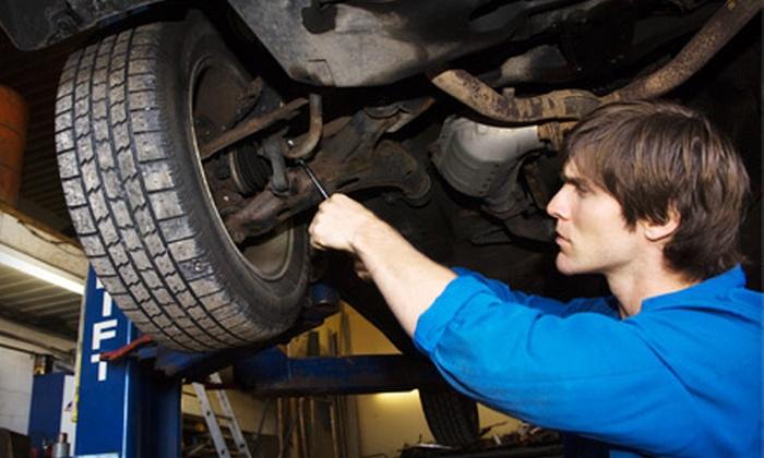 Capitol Auto Services - Waipahu: $39 for Wheel Alignment and Tire Rotation at Capitol Auto Service in Waipahu ($79.95 Value)