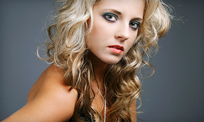 The Willows Salon & Day Spa - St. Stephens Brockway-Carmen: $55 for a Haircut Package with Style and Full Highlights at The Willows Salon & Day Spa in Saginaw (Up to $136 Value)