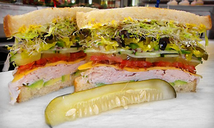Fat Boy's Cornerstore & Deli - North Park: $12 for a Deli-Sandwich Meal with Soft Drinks and Chips for Two at Fat Boy's Cornerstore & Deli (Up to $25.34 Value)