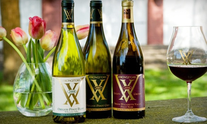 VX Vineyard - Newberg: Wine-Tasting Outing for Two or Four and a Bottle of Pinot Noir at VX Vineyards in Newberg