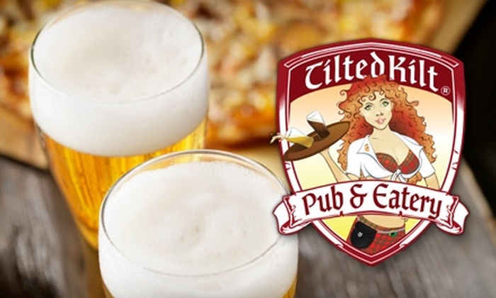 Tilted Kilt - Mesa: $15 for $30 Worth of Pub Fare and Drinks at Tilted Kilt in Mesa