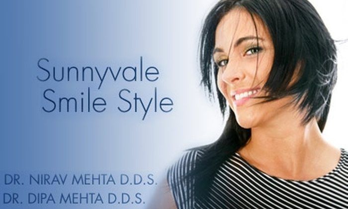 Sunnyvale Smile Style - San Jose: $49 for an Oral Cleaning, X-rays, and Dental Exam at Sunnyvale Smile Style ($270 Value)