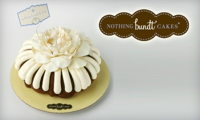 Nothing Bundt Cakes in West Hills California Groupon
