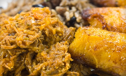 $30 Groupon to Gusto Cuban Cafe plus Bottle of Wine - Gusto Cuban Cafe in Ralston