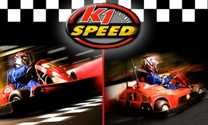 K1 Speed - Multiple Locations: $42 for Four High-Speed Races and Two Annual Race Licenses at K1 Speed (Up to $92 Value)