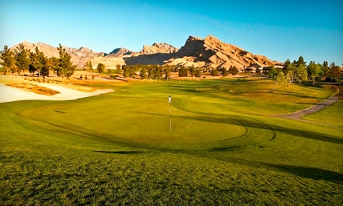 Golf Summerlin - Sun City Summerlin: $24 for 18 Holes of Golf, Cart Rental, and Bucket of Driving-Range Balls at Eagle Crest Golf Course at Golf Summerlin (Up to $64 Value)