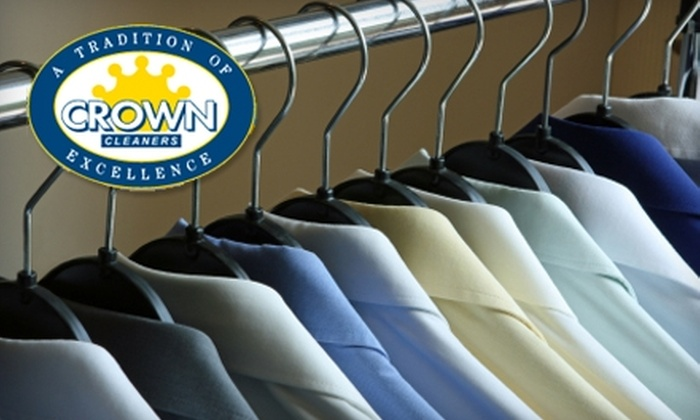 Crown Cleaners - Multiple Locations: $10 for $20 Worth of Dry Cleaning at Crown Cleaners