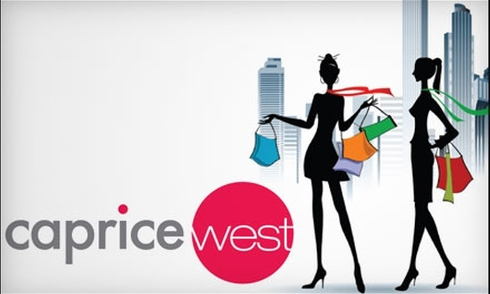 Caprice West - McNamara Industrial: $25 for $50 Worth of Upscale Consignment Clothes, Jewelry, and More at Caprice West