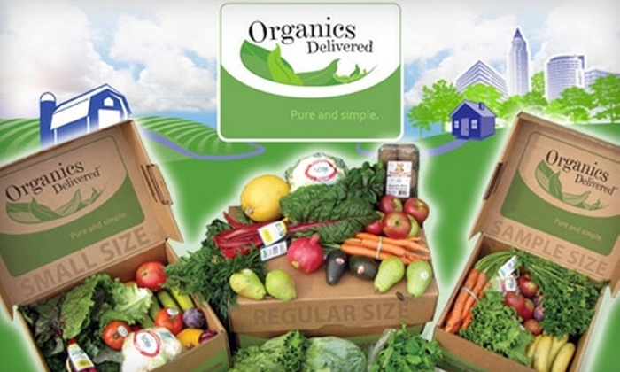 "Organics Delivered Limited: $30 for Two ""Best of Season"" Produce Boxes from Organics Delivered Limited ($79.90 Value)"